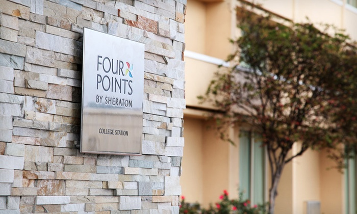 Four Points by Sheraton College Station - Wolf Pen Creek District: One-Night Stay at Four Points by Sheraton College Station in College Station, TX