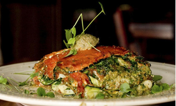 La Vie En Raw Cafe - Douglas: $20 for $40 Worth of Raw-Vegan Cuisine at La Vie En Raw Cafe