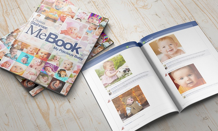 MeBook: Physical Social-Media Scrapbooks from MeBook (Up to 64% Off)