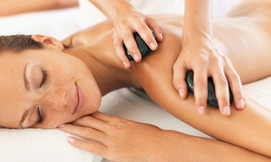 New Beginnings Massage: 60- or 90-Minute Custom Massage or 90-Minute Hot-Stone Massage at New Beginnings Massage (Up to 54% Off)