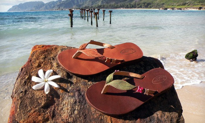 Scott Hawaii: $15 for $30 Worth of Slippers for Men, Women, and Children from Scott Hawaii