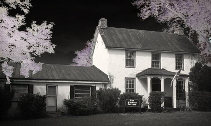 The Haunted Cottage - Harpers Ferry: Grand Tour, Workshop, and Ghost Hunt or Overnight Ghost Hunt at The Haunted Cottage in Harpers Ferry (Up to 50% Off)