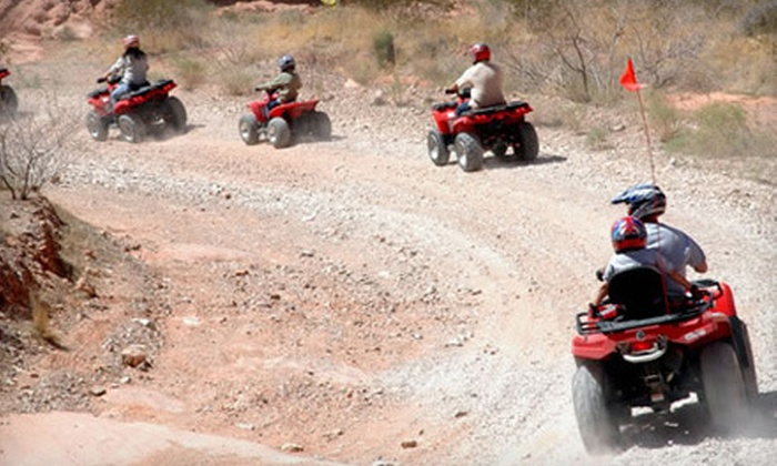 Adrenaline ATV Tours - North Las Vegas: 1 ATV Ride (a $170 value)