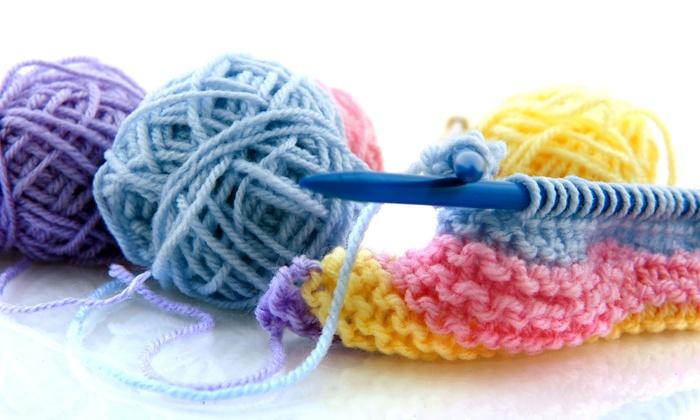 Knit Schtick - Newport Beach: Three Beginners' Crocheting or Knitting Classes at Knit Schtick (Half Off)
