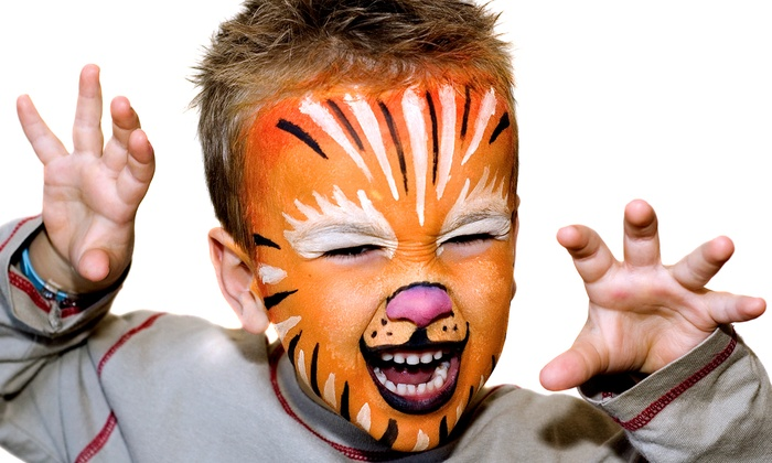 Face and Hair Painting Studio LLC - Southfield: Halloween Pajama Costume, Face-Painting Lesson, or Face Painting at Face and Hair Painting Studio LLC (Half Off)