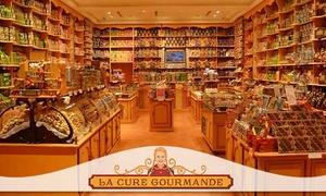 La Cure Gourmande Montpellier: 1 boîte découverte avec assortiment de 4 douceurs à récupérer sur place à 18,90 € à La Cure Gourmande Montpellier