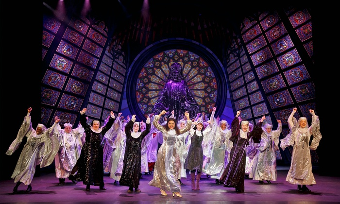 """Sister Act"" - Palace Theater: ""Sister Act"" at Palace Theater on March 6 or 7 (Up to 49%Off)"