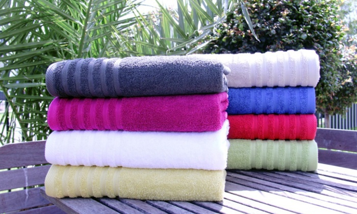 550 GSM 100% Cotton Bath Towel 4-Pack: 550 GSM 100% Cotton Bath Towel 4-Pack. Multiple Colors Available. Free Shipping and Returns.