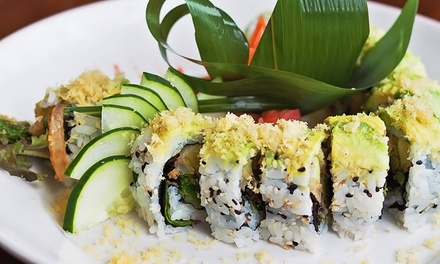 Sushi and Stir-Fry at Wok 'n Fire (Up to 50% Off). Two Options Available.