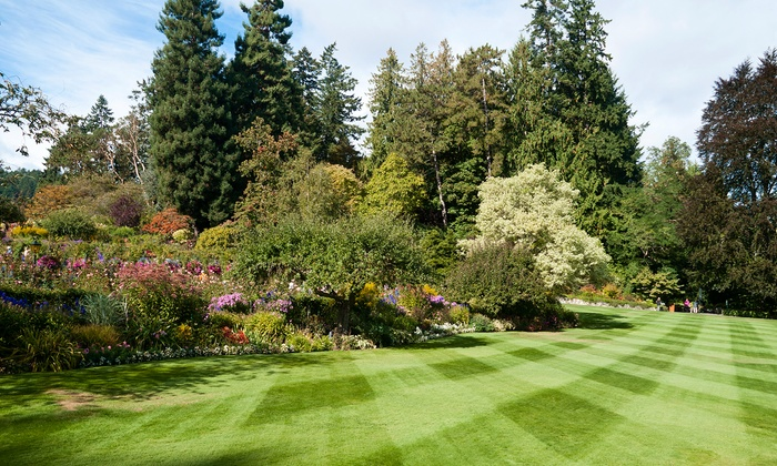 The Landscape Group - Columbus: One Month of Lawn Mowing and a Fertilization Treatment from The Landscape Group (Up to 61% Off)