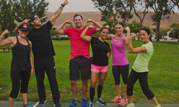 R.o.c. Fitness - Multiple Locations: 10 Boot-Camp Classes at R.O.C. Fitness (70% Off)