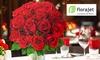 Bon d'achat Florajet pour offrir des fleurs pour la Saint-Valentin