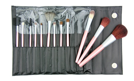 Beaute Basics 12-Piece Makeup Brush Set
