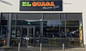 El Guaca Mexican Grill - Trowbridge: Two-Course Mexican Meal with Wine for Two or Four at El Guaca Mexican Grill - Trowbridge (Up to 45% Off)