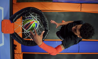 image for Two 60-Minute Jump Passes or Supreme Air Birthday Package for Up to 20 at Sky Zone Syracuse (Up to 46% Off)