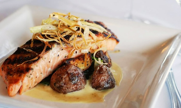 Saluda's - Five Points: Contemporary Southern Dinner for Two or Four at Saluda's  (Up to 57% Off)