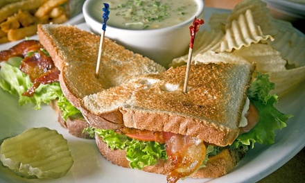 $11 for Any Two Sub Sandwiches, Burgers, or Hot Dogs at Sycamore Deli (Up to $21.50 Value)