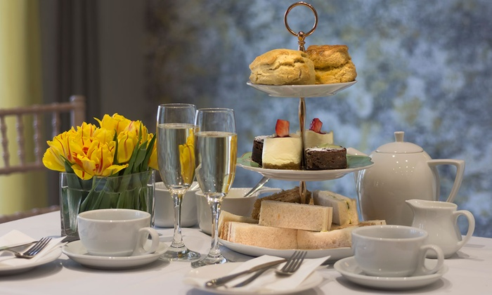 The Orchid Hotel - Bournemouth: Prosecco Afternoon Tea for Two at The Orchid Hotel (45% Off)