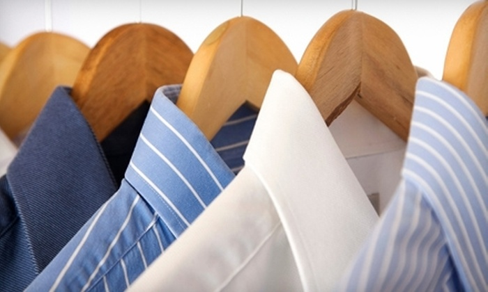 Houdini's Cleaners - Multiple Locations: $20 Worth of Dry-Cleaning Services