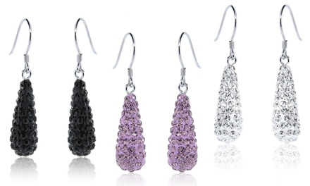Drop Earrings Made with Swarovski Elements