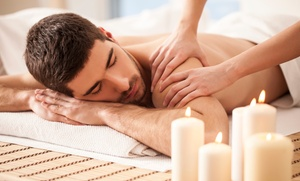 Indulgence Day and Med Spa: $39 for a Tension Relief Massage with Wine & Foot Wrap at Indulgence Day & Med Spa ($86 Value)