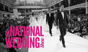 National Wedding Show: Ticket to The National Wedding Show, 4-6 March at The NEC Birmingham (Up to 40% Off)