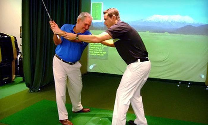 Edwin Watts Golf Academy - Round Rock: 30-Minute Putting Evaluation or a 60-Minute Golf-Swing Evaluation at Edwin Watts Golf Academy (69% Off)