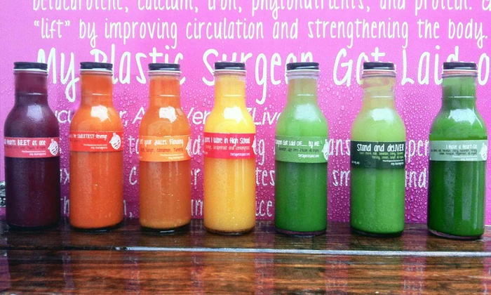 The Squeeze - Multiple Locations: Three- or Six-Day Juice Cleanse at The Squeeze (Up to 34% Off)