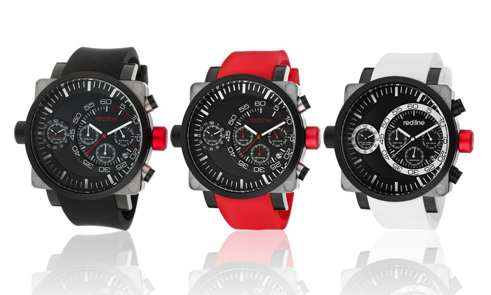 Red Line Men's Dual-Timer Chronograph Watch: Red Line Men's Dual-Timer Chronograph Watch
