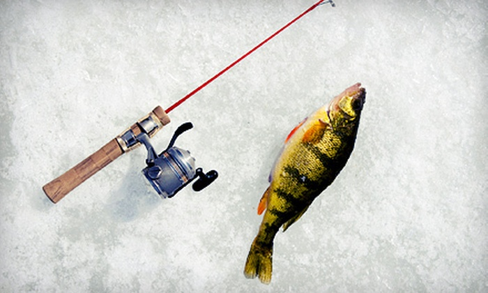 High Banks Resort - Deer River: Three-Night Cabin Stay with Ice-Fishing or Boat Rental at High Banks Resort (Up to 53% Off). Four Options Available.