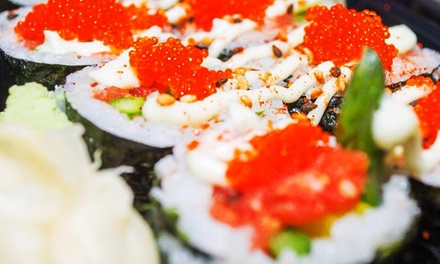 Sushi-Making Experience for Two at Sushi Boss (47% Off). 9 Dates Available.