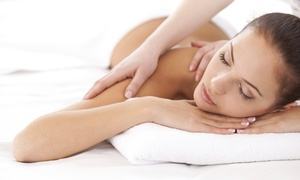 Umi Beauty: 60-Minute Massage, Custom Facial, or Both at Umi Beauty (Up to 53% Off)
