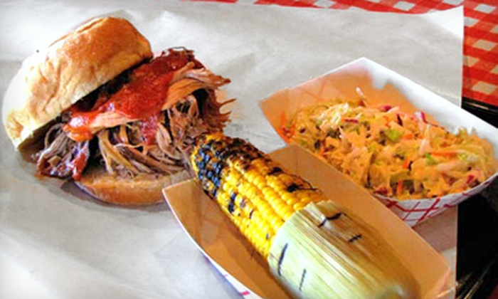Mr. K's Barbeque - Ward 3: $10 for $20 Worth of Barbecue Food or Catering Packages for 20 or 40 People at Mr. K's Barbeque