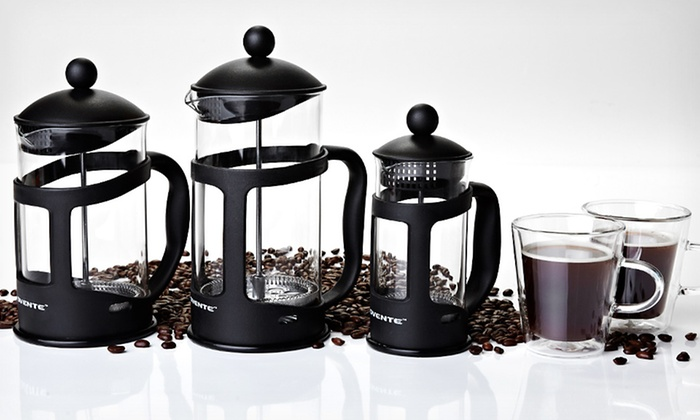 Ovente French Coffee Press: 12-, 27-, or 34-Ounce Ovente French Coffee Press (Up to 67% Off). Free Returns.