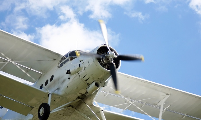 Global Aviation Corp. - Farmingdale: Private Flight Experience for or Two People at Global Aviation Corp. (Up to 62% Off)