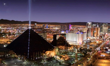 Groupon Deal: Stay with a $20 Dining Credit at Luxor Hotel and Casino in Las Vegas. Dates into August.