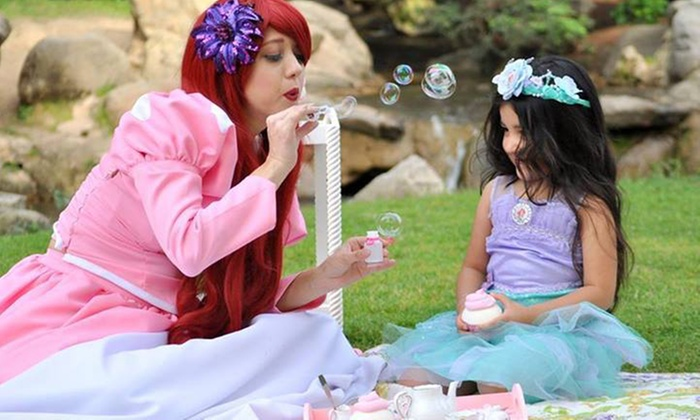Dreams Come True Entertainment - Fresno High-Roeding: Princess-Themed Kids' Party Package from Dreams Come True Entertainment (58% Off). Two Options Available.