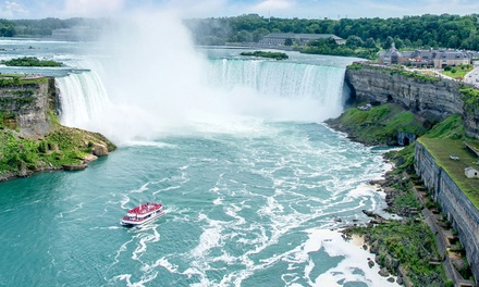 Stay with Wine Tastings and Tours at Wyndham Garden Niagara Falls Hotel in Ontario, with Dates into December