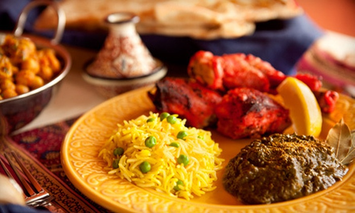 LaZeez Restaurant - Central Avenue: Indian Meal with Appetizer, Entrees, and Drinks for Two or $10 for $20 Worth of Indian Cuisine at LaZeez
