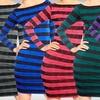 Striped Women's Dresses