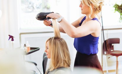 image for Haircut, Blow-Dry, and Style with Optional Highlights or Color from Hair by Alyson (Up to 55% Off)