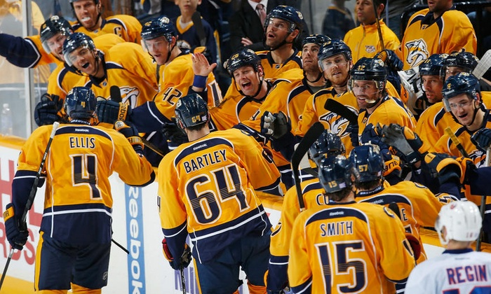 Nashville Predators - Bridgestone Arena: Six-Game Package to See Nashville Predators Hockey at Bridgestone Arena (Up to 35% Off). Six Options Available.