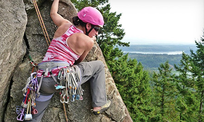 KAF Adventures - KAF Adventures, LLC: Intro to Rock Climbing, Backpacking, or Mountaineering Class at Kaf Adventures (Up to 53% Off)
