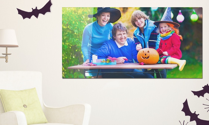 Printerpix: One or Two Personalized Metal Prints from Printerpix (Up to 93% Off)