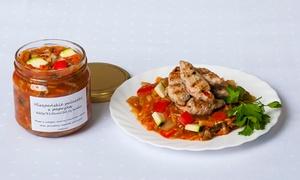 Catering SAAS: Catering dietetyczny, 30 pozycji do wyboru: 6 słoików za 55,99 zł i więcej opcji w Catering SAAS