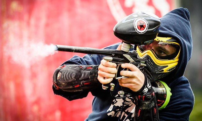 907 Paintball - South Anchorage Sports Park: Day of Paintball with Gun, Mask, Air, and Ammo for Two, Six, or Ten at 907 Paintball (Up to 60% Off)