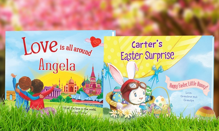 Put Me In The Story: Personalized Easter or Love Children's Books from Put Me in the Story (Up to 57% Off)