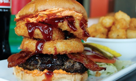 $18 for $30 Worth of Burgers, Shakes, and Mixed Drinks at Lunchbox Laboratory – Seattle