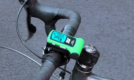 Bike GPS Speedometer and Navigator Device