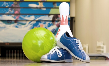Up to 50% Off Bowling with Shoes at River City Recreation